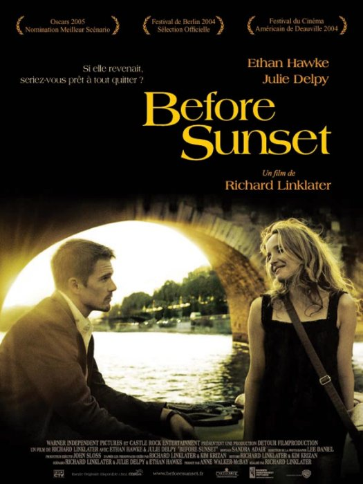 Before Sunset : Affiche Ethan Hawke, Julie Delpy