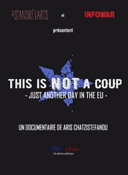 This is not a coup - Just another day in the EU : Affiche