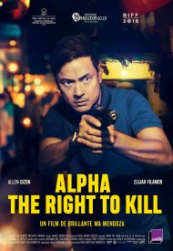 Affiche de Alpha - The Right to Kill