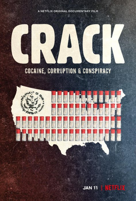Crack : Cocaïne, corruption et conspiration : Affiche