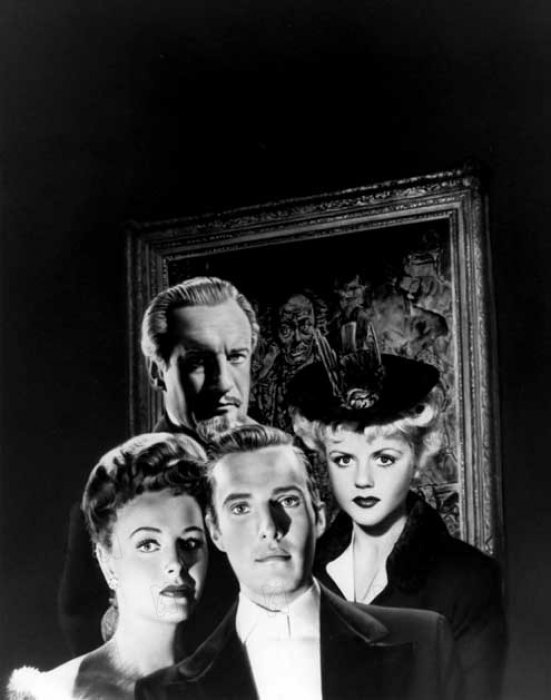 Le Portrait de Dorian Gray : photo Albert Lewin, Angela Lansbury, Donna Reed, George Sanders, Hurd Hatfield