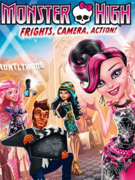 Monster High - Frisson, caméra, action ! : Affiche