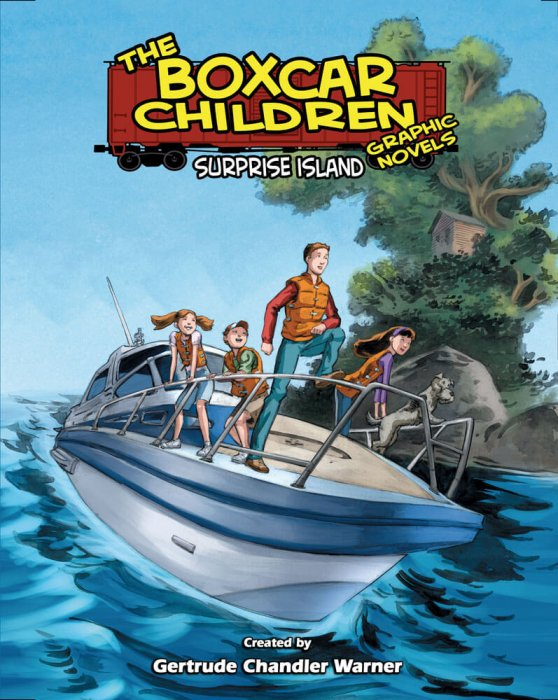 The Boxcar Children: Surprise Island : Affiche