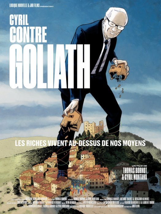 Cyril contre Goliath : Affiche