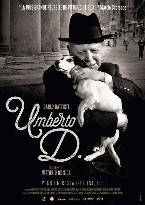 Umberto D. : Affiche