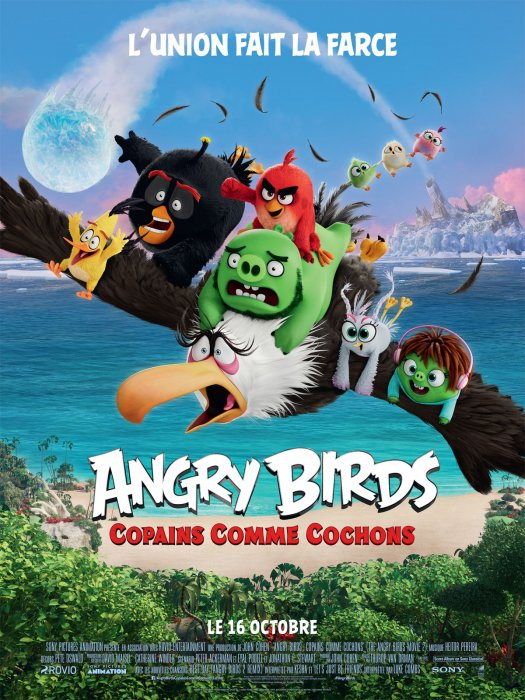 Angry Birds : Copains comme cochons : Affiche