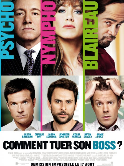 Comment tuer son Boss ? : affiche