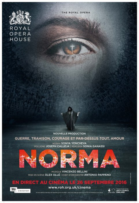 Norma (Royal Opera House) : Affiche