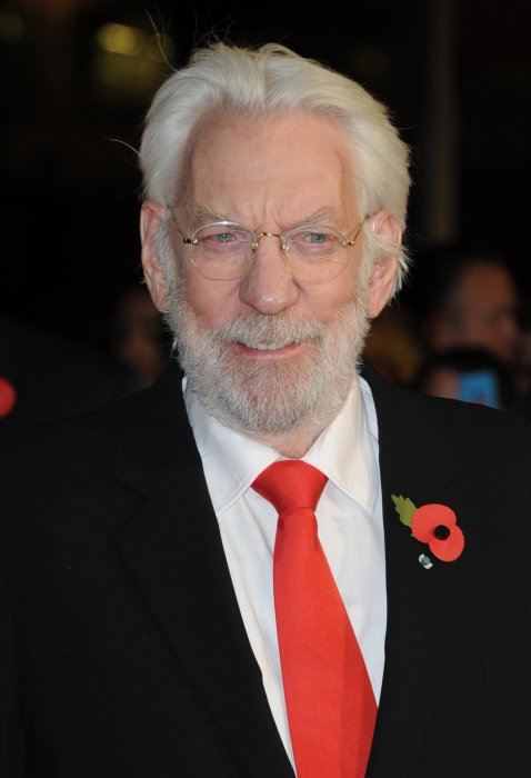 Hunger Games - La Révolte : Partie 1 : Photo promotionnelle Donald Sutherland
