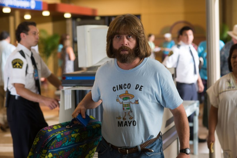 Les Cerveaux : Photo Zach Galifianakis