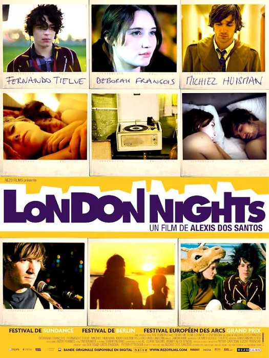 London Nights : affiche Alexis Dos Santos