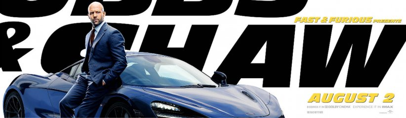 Fast & Furious : Hobbs & Shaw : Affiche