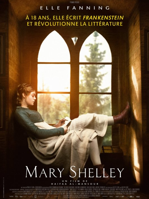 Mary Shelley : Affiche