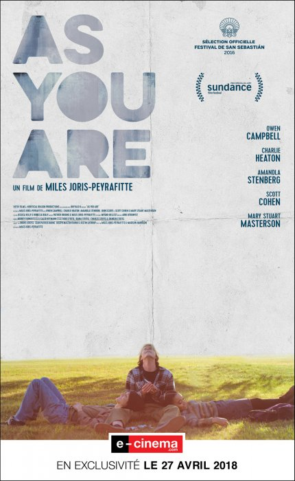 As You Are : Affiche