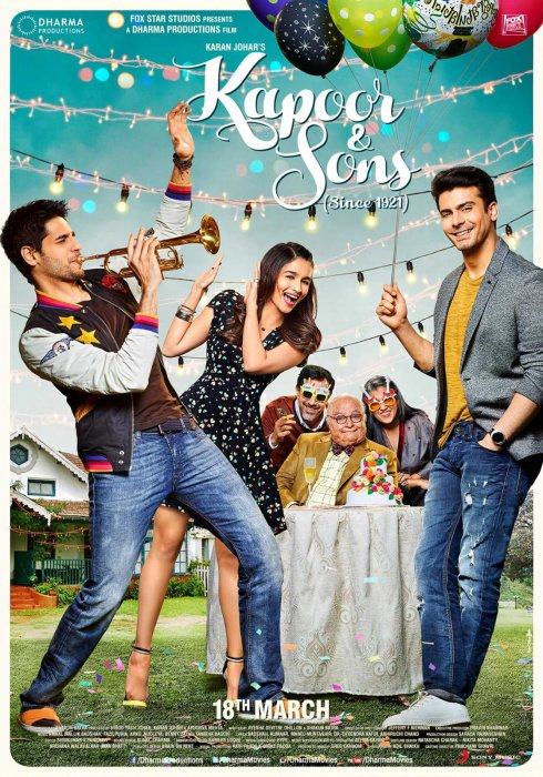 Kapoor and Sons : Affiche