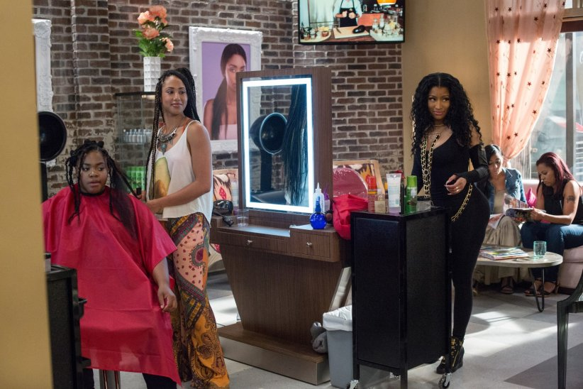 Barbershop: The Next Cut : Photo Margot Bingham, Nicki Minaj