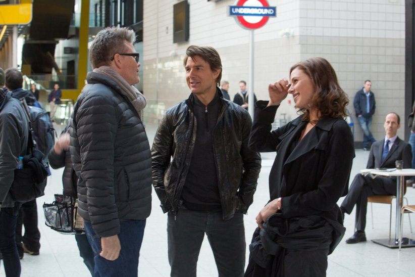 Mission: Impossible - Rogue Nation : Photo Christopher McQuarrie, Rebecca Ferguson, Tom Cruise
