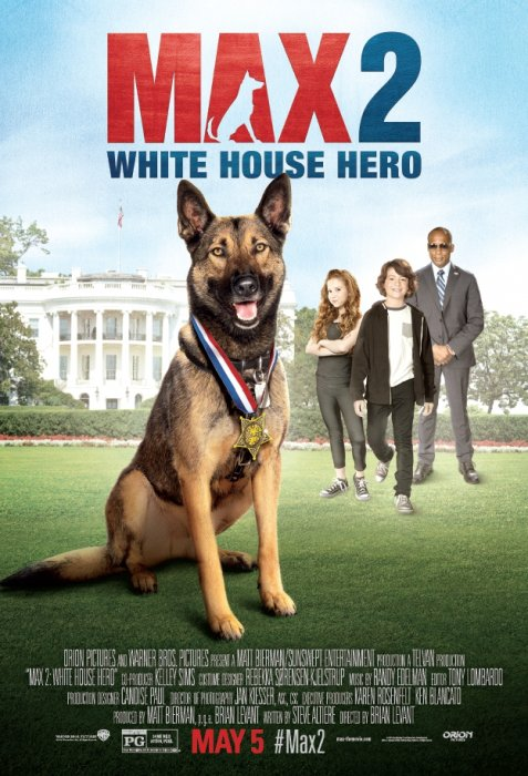 Max 2: White House Hero : Affiche