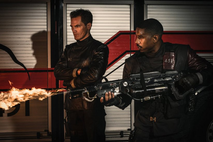 Fahrenheit 451 : Photo Michael B. Jordan, Michael Shannon