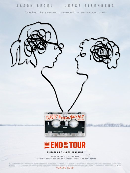End of the Tour : Affiche