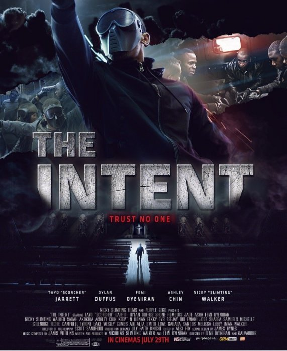 The Intent : Affiche