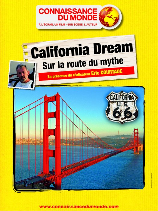 California Dream, Sur la route du mythe : Affiche