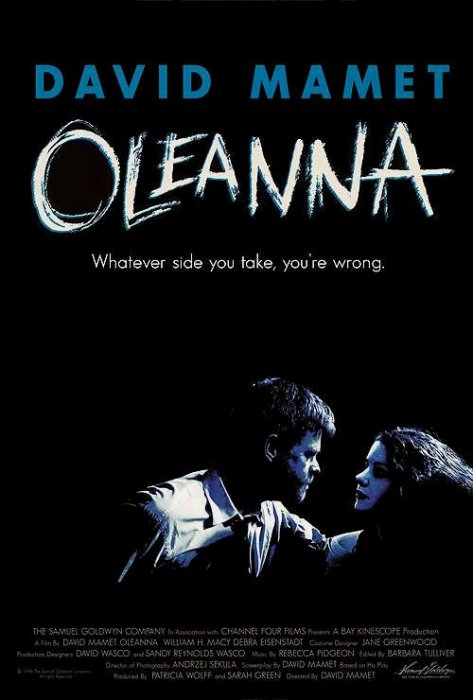 Oleanna : Affiche