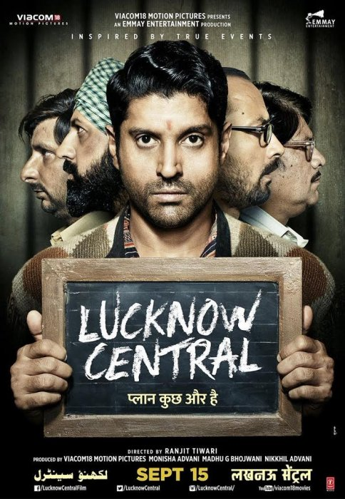 Lucknow Central : Affiche