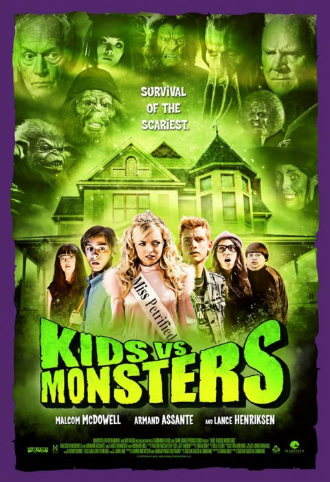Kids vs Monsters : Affiche