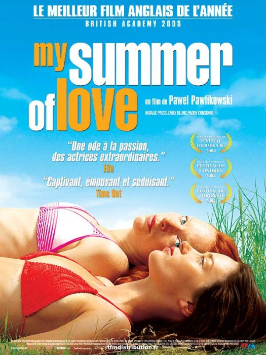 My Summer of Love : Affiche