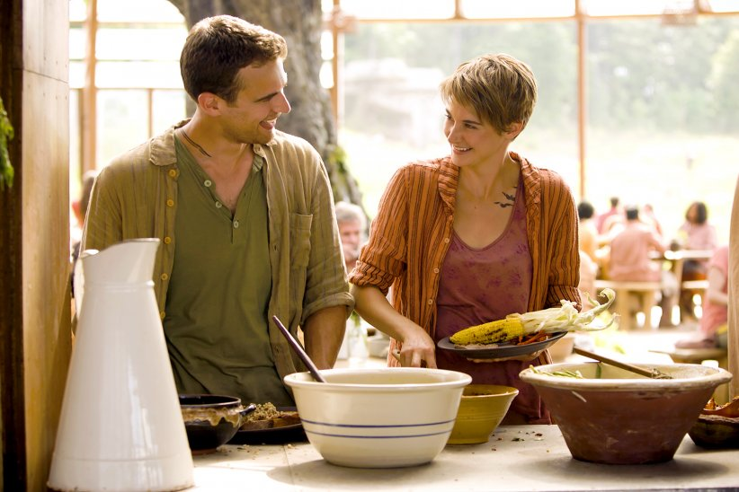 Divergente 2 : l'insurrection : Photo Shailene Woodley, Theo James