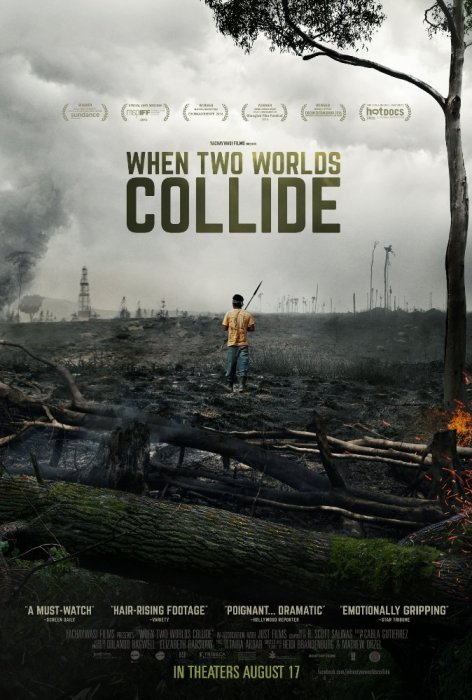 When Two Worlds Collide : Affiche