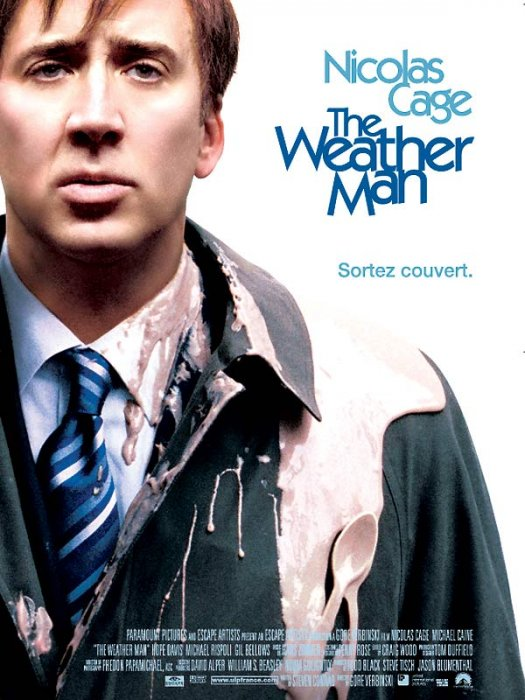 The Weather Man : Affiche Nicolas Cage