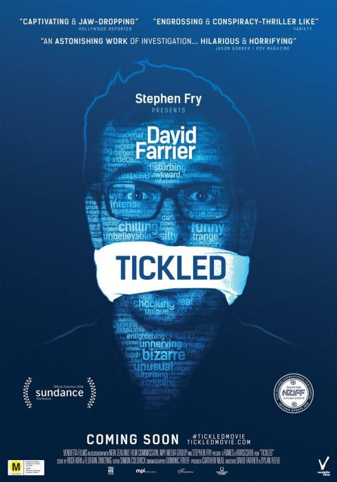 Tickled : Affiche
