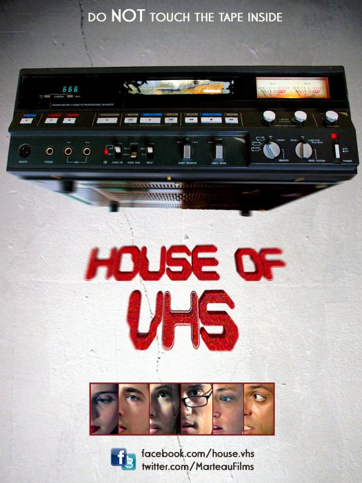 House of VHS : Affiche