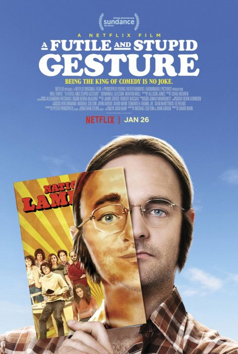 A Futile And Stupid Gesture : Affiche