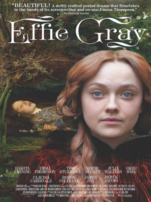 Effie Gray : Affiche
