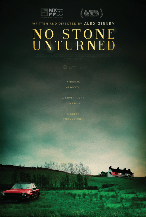No Stone Unturned : Affiche