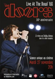 Affiche de The Doors - Live At The Bowl '68 (Pathé Live)
