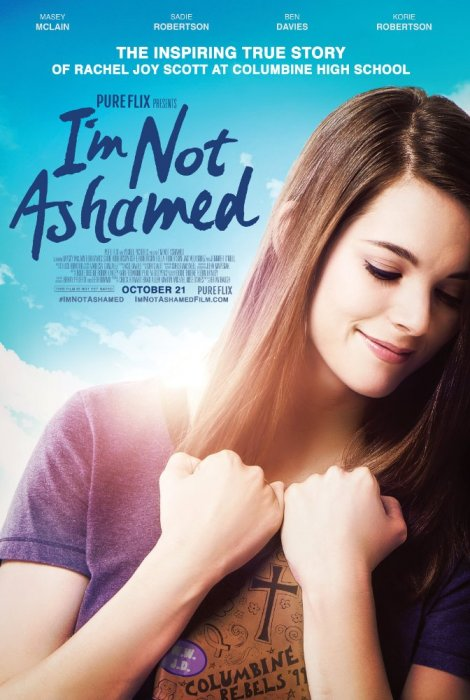 I'm Not Ashamed : Affiche