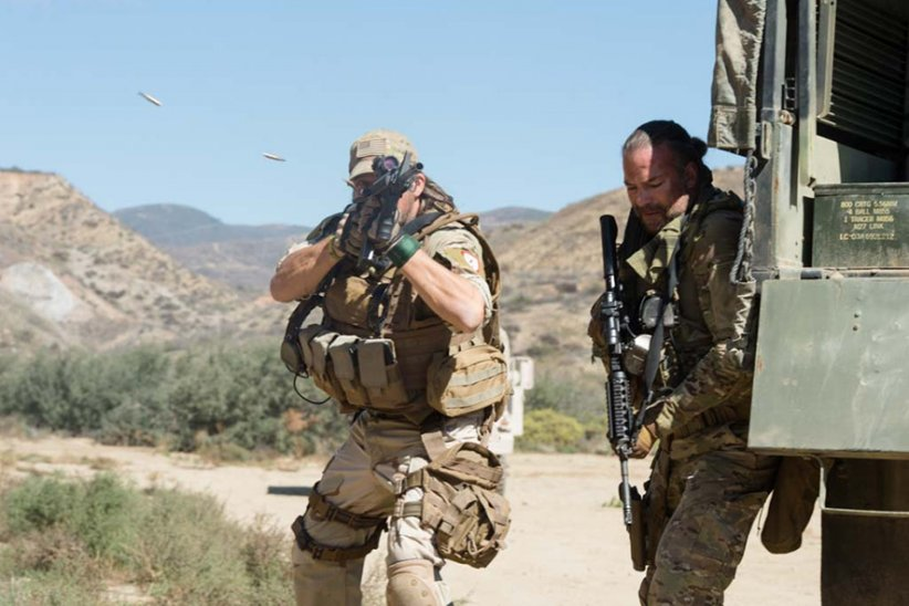 Sniper: Special Ops : Photo Rob Van Dam, Tim Abell