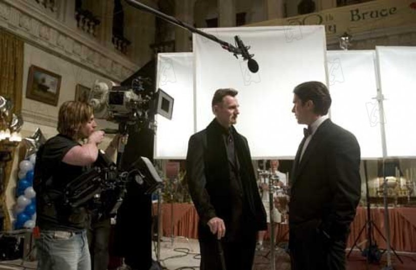 Batman Begins : Photo Christian Bale, Liam Neeson
