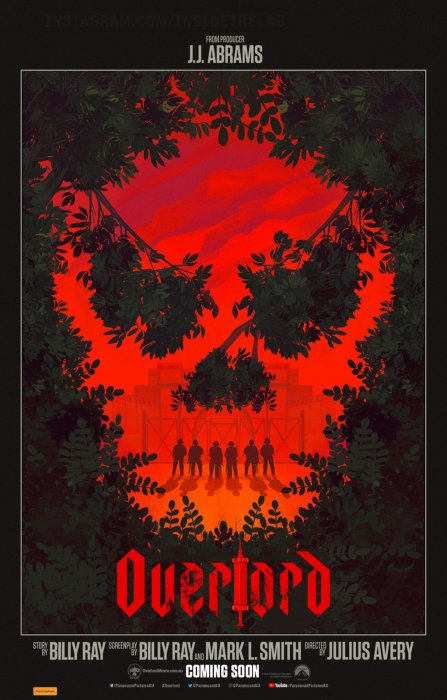 Overlord : Affiche