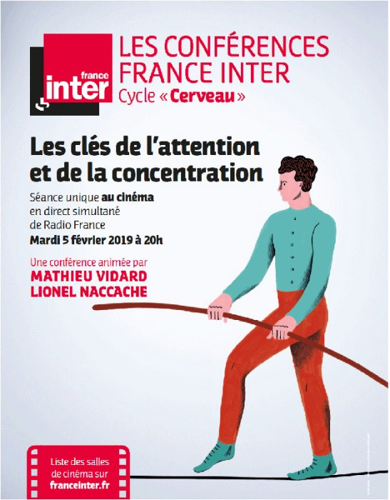 Les Clés de l'attention et de la concentration : Affiche