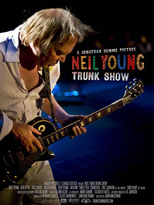 Neil Young Trunk Show : affiche