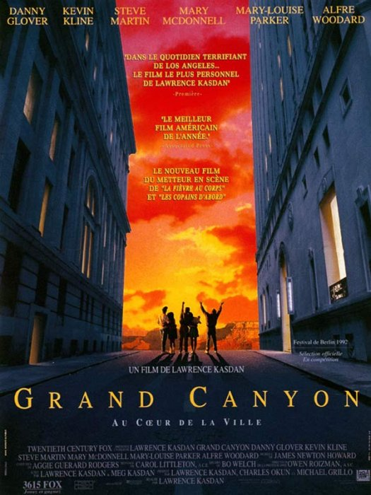 Grand Canyon : Affiche Lawrence Kasdan