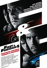 Affiche de Fast and Furious 4