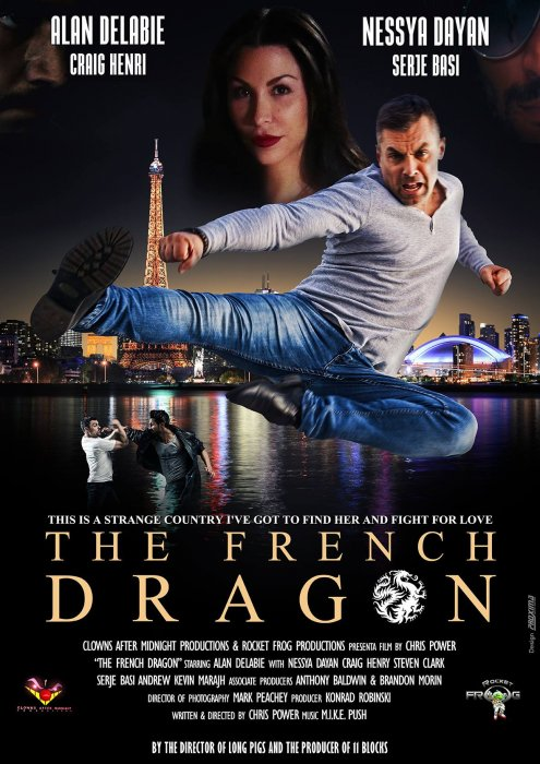 The French dragon : Affiche