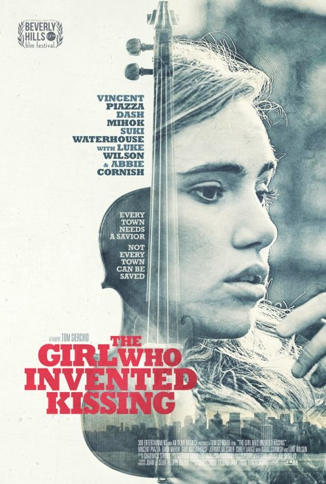 The Girl Who Invented Kissing : Affiche