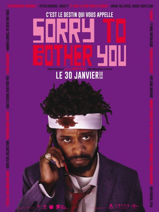Sorry To Bother You : Affiche